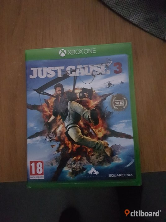 Just cause 3 Xbox one  Västerbotten Umeå