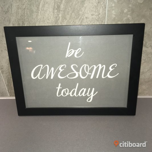 """BE AWESOME TODAY"" TAVLA"