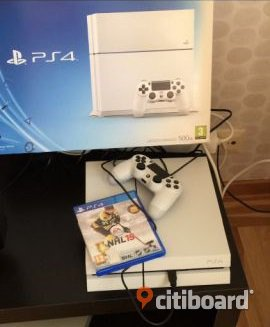 PS4 500GB med NHL15