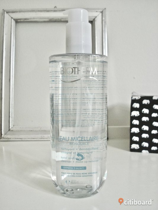 BIOTHERM - Biosource Eau Micellaire Make-up Remover! 400 ml! Ny! Övrigt Malmö