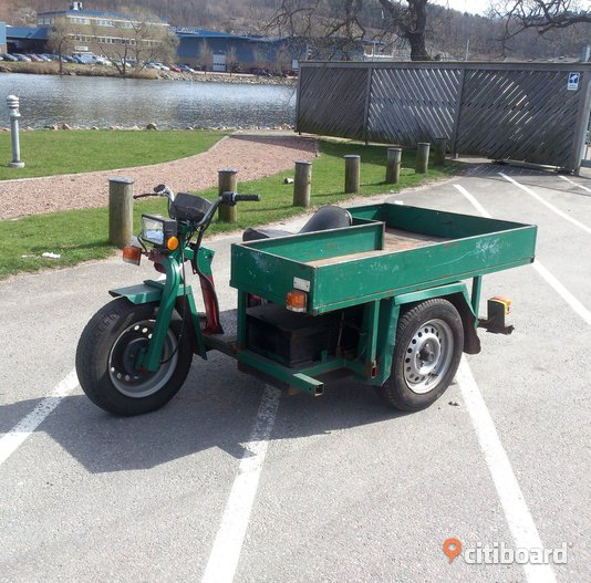 Tugger lastmoped/elmoped