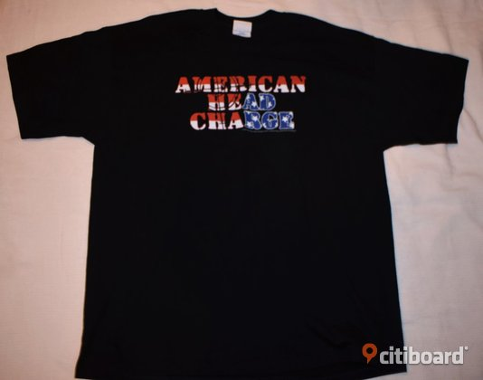 Ny! T-shirt - American Head Charge - Rock/Band/Metal 56-58 (XL) Herrkläder & Herrskor Luleå