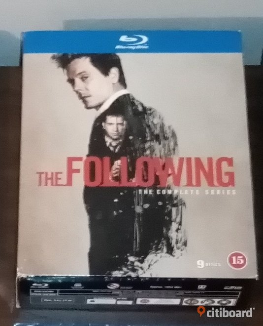 The Following Bluray Fritid & Hobby Stockholm Sälj