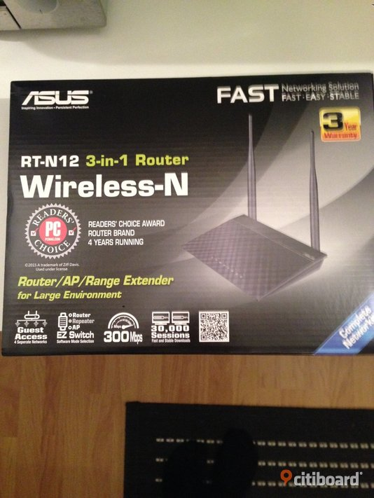 Asus RT-N12 Wireless-N Router