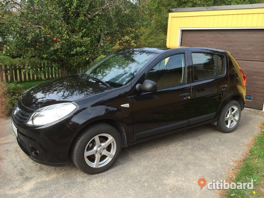 dacia sandero 1 6 16v e85 105 ambiance 11 nyk ping oxel sund citiboard. Black Bedroom Furniture Sets. Home Design Ideas