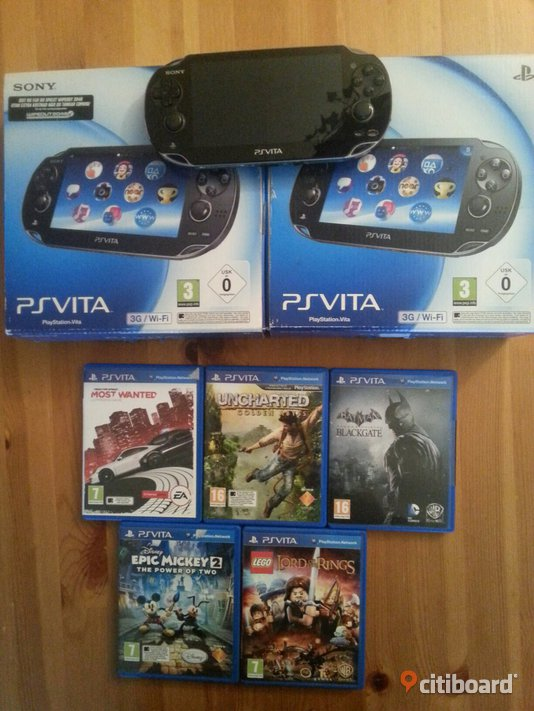 Julklapps tips!  PS vita 3G/wifi med 5 spel