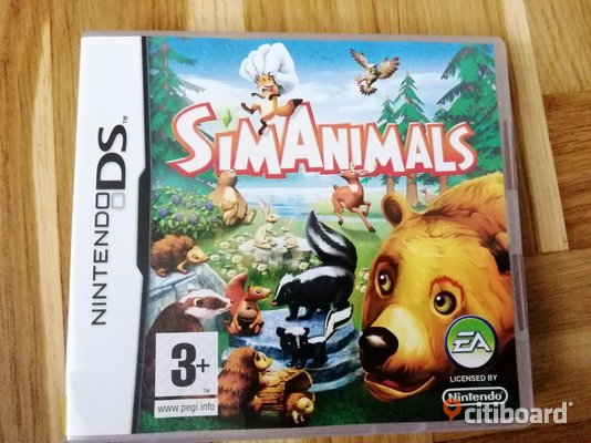 Sim Animals Komplett med Manual - Nintendo DS Kungälv