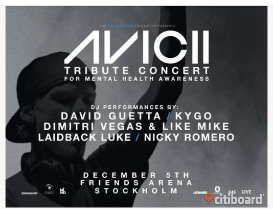 Avicii golden Circle  Botkyrka