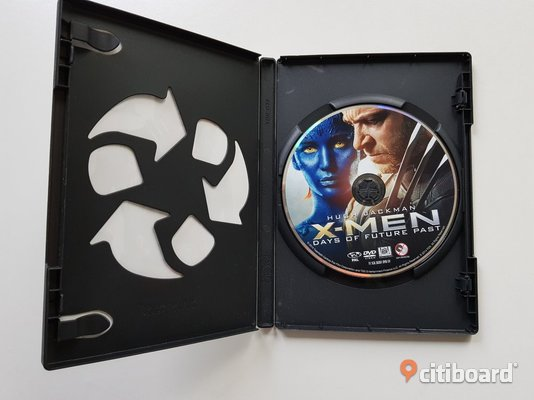 DVD-film: X-men: Days of Future Past - Hugh Jackman Musik, Film & Spel Östergötland Mjölby