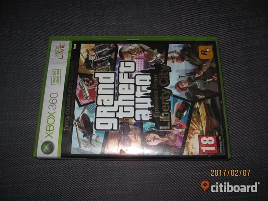 Grand theft auto episodes from liberty city Borås / Mark / Bollebygd