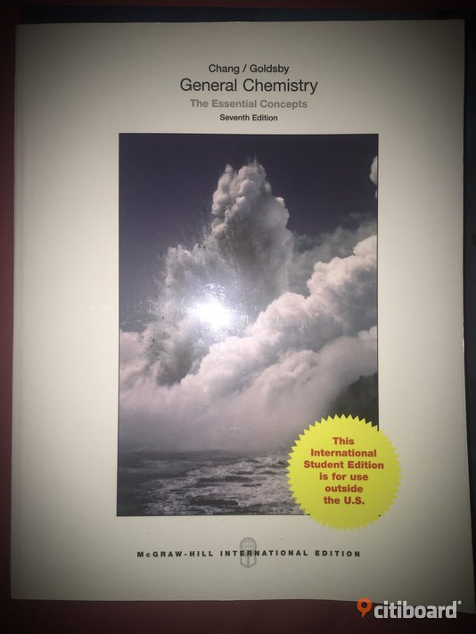 Studentlitteratur för biomedicinsk analytiker. General Chemistry: The Essential Concepts, Chang (ISBN:9781259073762) Böcker & Studentlitteratur Gävleborg Gävle / Söderhamn / Hudiksvall / Sandvike