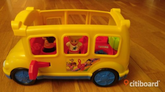 FISHER-PRICE skolbuss med figurer. Järfälla