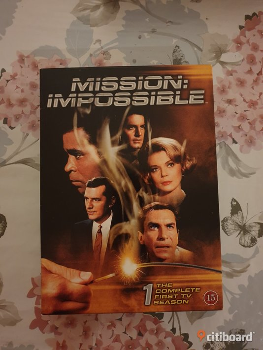 Mission Impossible, Säsong 1 1966. dvd-box Umeå Sälj