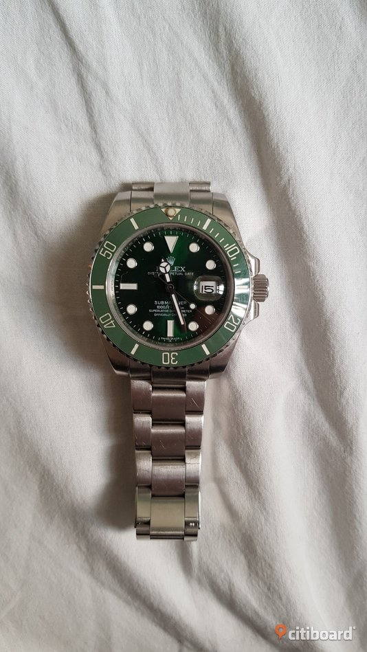 "Rolex Submariner ""The Hulk"" Mode Göteborg"