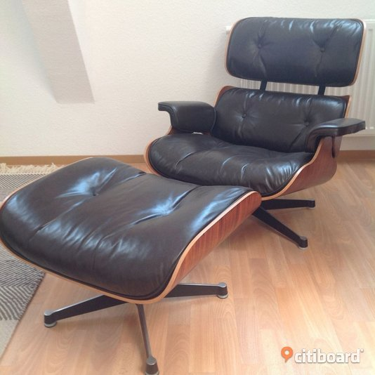 Original HERMAN MILLER Eames LOUNGE Chair Nynäshamn Sälj