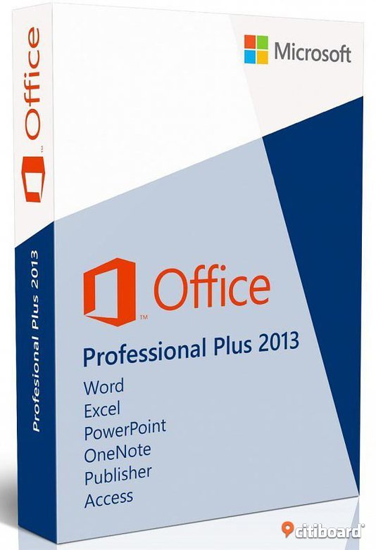 Office 2013 Professional  svensk DVD + aktiverings kod Stockholm