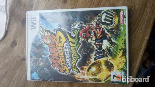 Wii-spel, Mario strikers charged football Leksand