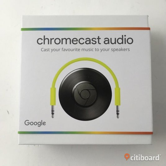 Chromecast audio  Norrköping