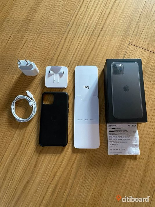 iPhone 11 Pro 64GB Space Grey Mobiler & Tillbehör Gislaved