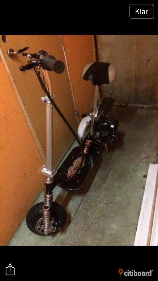 Goped scooter 2 takt