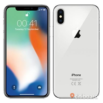 Iphone X 256gb Silver Stockholm