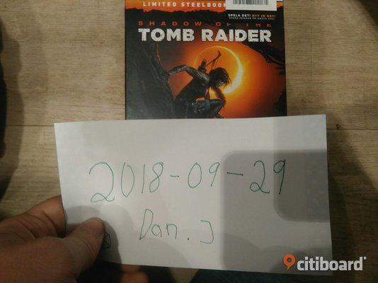 Tombraider PS4 Steelbox Karlstad Sälj