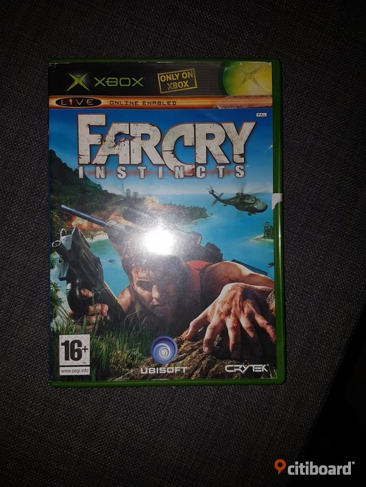 Xbox spel far Cry  Umeå