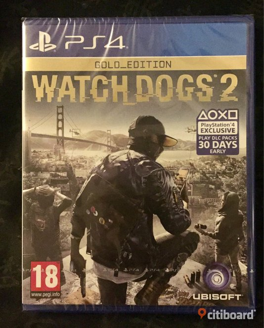 Watch Dogs 2 Gold Edition | PS4
