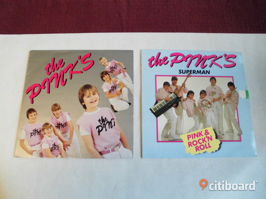 "The Pinks. ""Linda, Linda""+""Superman"". Poster i en Lp. Fritid & Hobby Eslöv"