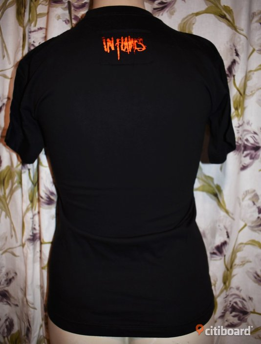 Ny! T-shirt - In Flames - Rock/Band/Metal 36-38 (S) Toppar Luleå