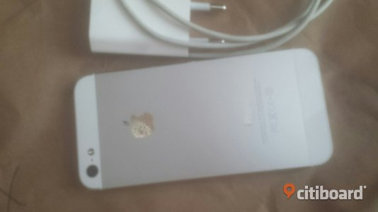 Iphone 5 16gb Silver  Fagersta