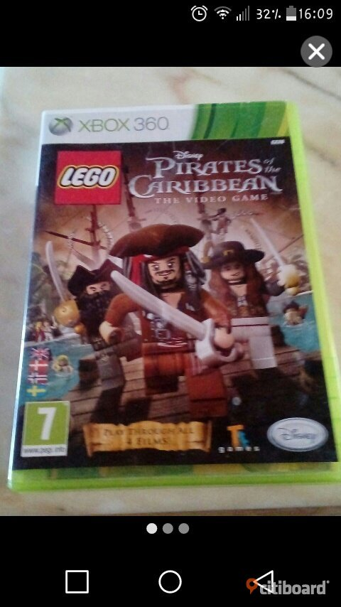 Pirets of the caribbean xbox 360 Sölvesborg