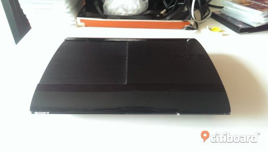 PS3 Super Slim 12G plus - paketpris!