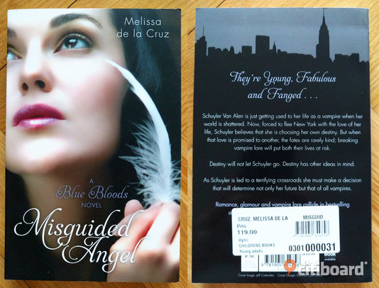 """Misguided Angel"" (A Blue Bloods novel) - Melissa de la Cruz Malmö"