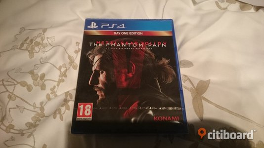 Metal Gear Solid 5: The Phantom Pain (Day one edition) till PS4 INPLASTAT