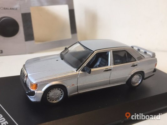 1988 Mercedes 190E 2.3 16V 1/43 GTI Collection Fritid & Hobby Göteborg