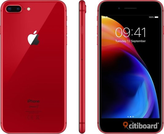 Apple iPhone 8 Plus 256GB RED Special Edition Göteborg