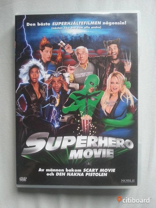 Superhero Movie Stockholm