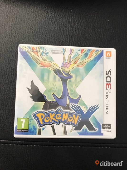 Nintendo 3ds spel pokemon