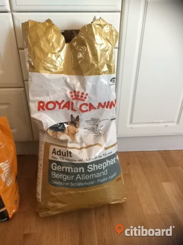 Hundmat Royal canin schäfer Umeå