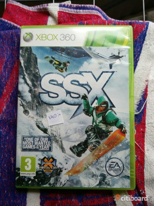 Xbox 360 spel SSX, Need for speed most wanted och James bond. Norrköping