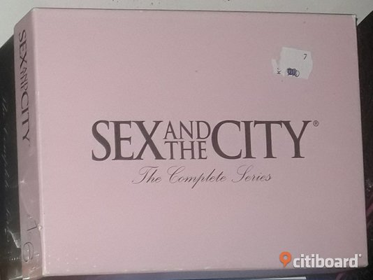 Sex and the city box  Halmstad