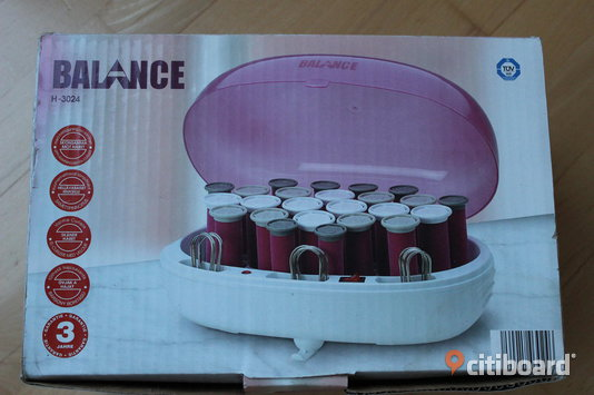 VOLUME & CURL HEATED ROLLERS by Balance.