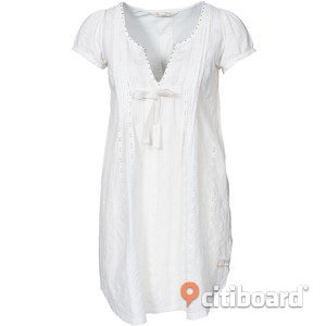 Odd Molly vit stl4 Morning Dew Dress