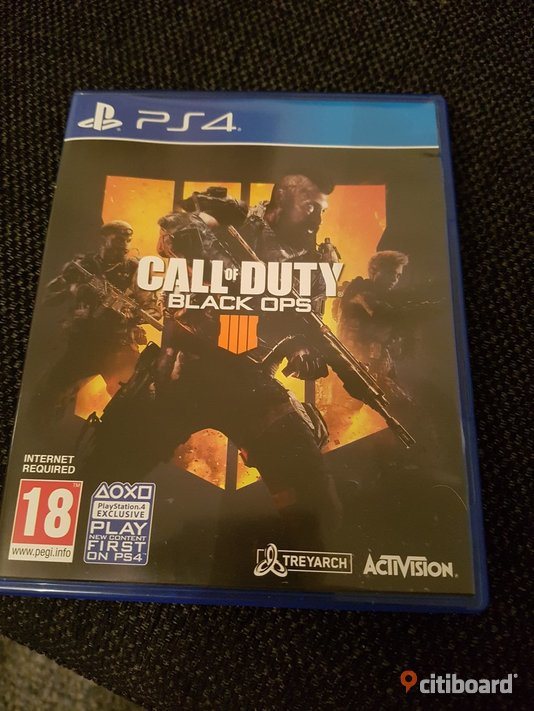 PS 4 spel Call of Duty  Borås / Mark / Bollebygd