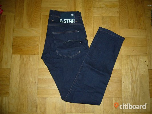 Nya jeans G-Star Raw 3301 Mode Uppsala
