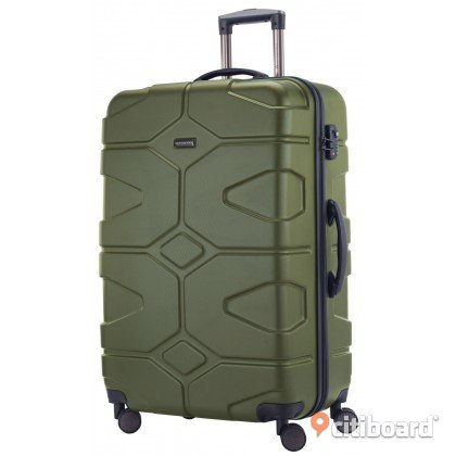 Hauptstadtkoffer - X-Kölln - Luggage Suitcase Hardside Expandable Trolley 4 Wheel Spinner, TSA Lock, 76 cm, 120 Liter, Olive Green Göteborg