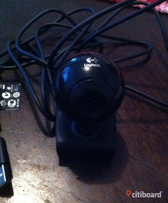 Logitech web-cam c120 med quick-start guide