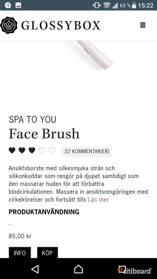 Spa to you, face brush  Malmö