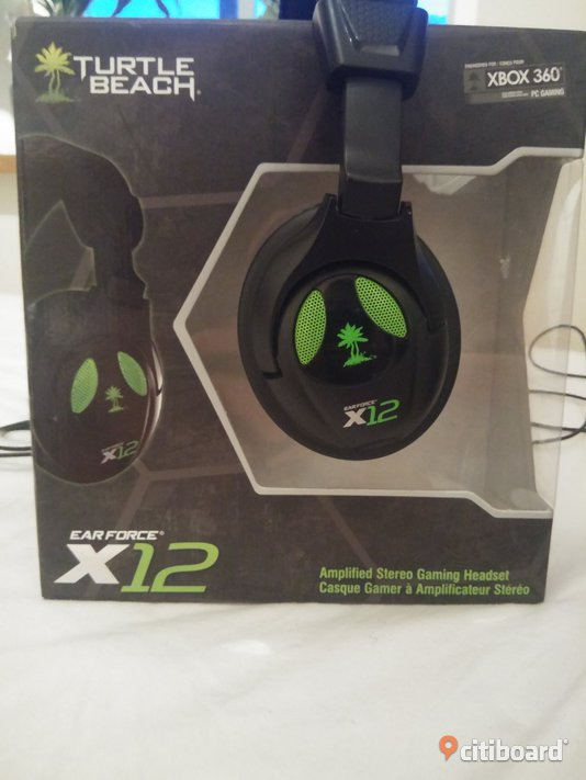 Turtle Beach X12 Gaming Headset Norrköping